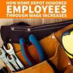 home depot wage increase