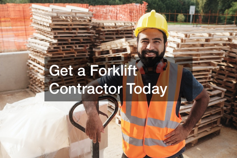 forklift contractor